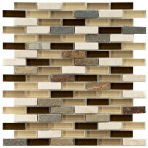 Home Depot Merola Subway Tile by Tessera Subway Nassau 12 In X 11 3 4 In X 8 Mm And