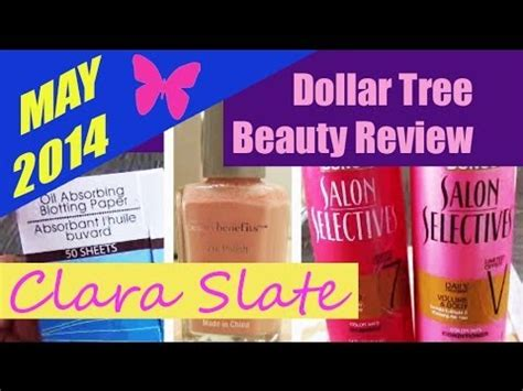 Dollar Tree Beauty Review! ♥  Youtube