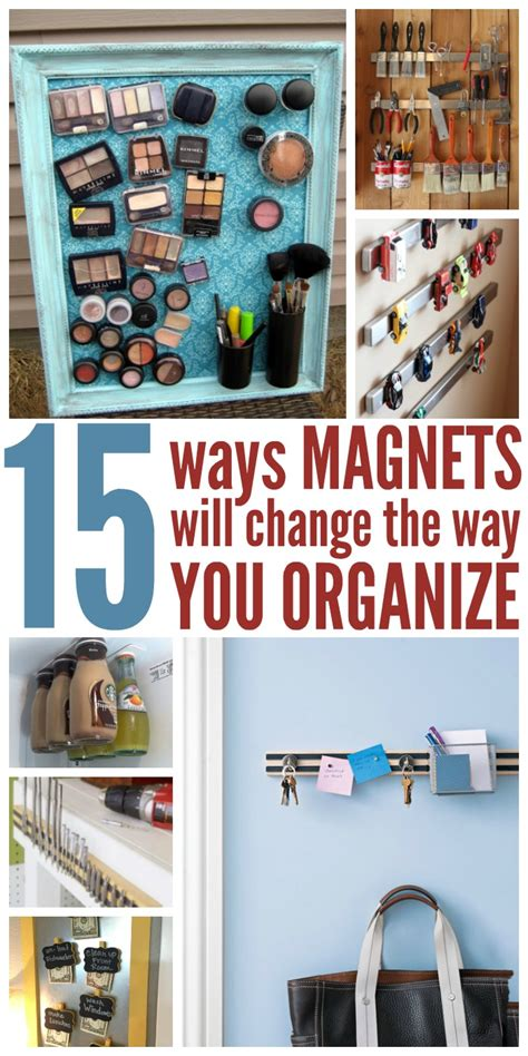 15 Ways To Use Magnets Will Change How You Organize