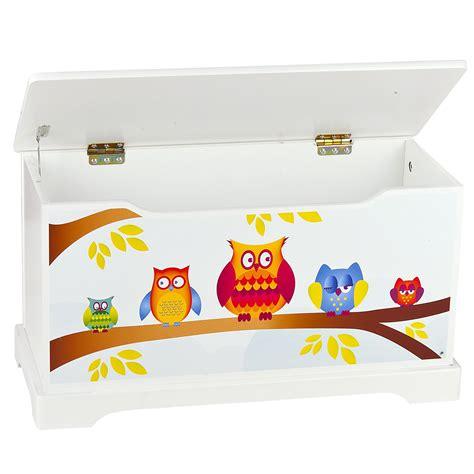 Spielhöhle Für Kinder by Eulen Holz Spielzeug Kiste Mit Deckel Tisch St 252 Hle Set