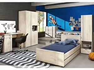 Chambre Garcon Complete : lit 90x190 cm slam vente de lit enfant conforama ~ Teatrodelosmanantiales.com Idées de Décoration