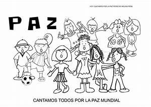 Día de la Paz 2015 HOY CANTAMOS POR LA PAZ Con fichas para ...
