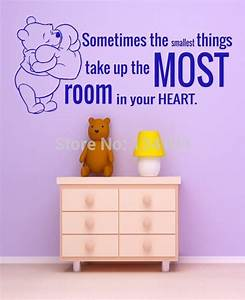 compare prices on cartoon things online shopping buy low With kitchen cabinets lowes with winnie the pooh quotes wall art