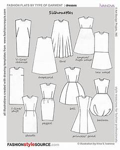 Silhouettes Of Dresses  I Think My Favorite Is Sheath