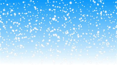snow falling  blue background stock footage video