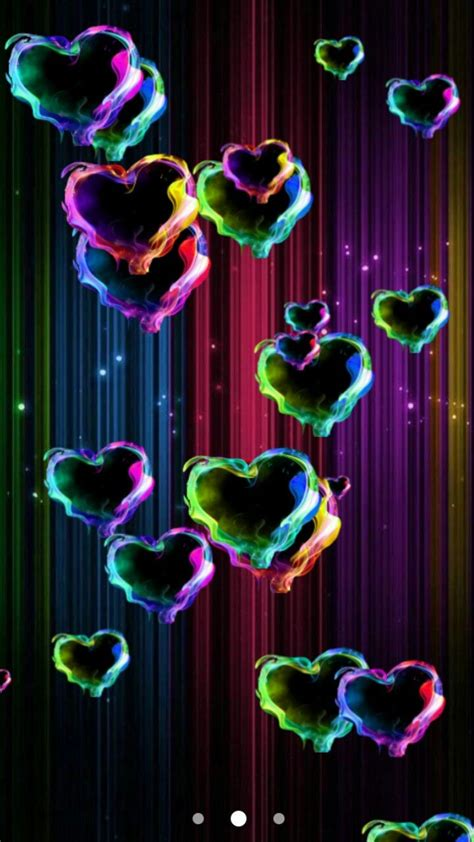 Enjoy and share your favorite beautiful hd wallpapers and background images. Magic hearts live wallpaper google play store | Heart wallpaper, Heart background, Rainbow heart