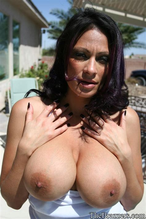 Busty Latina Milf Ava Lauren Flashing Her Massive Boobs