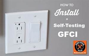 Single Pole Switch Wiring A Receptacle To Light A Gfi