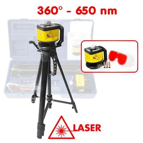 niveau laser rotatif 360 176 650 nm laser classe 2 avec
