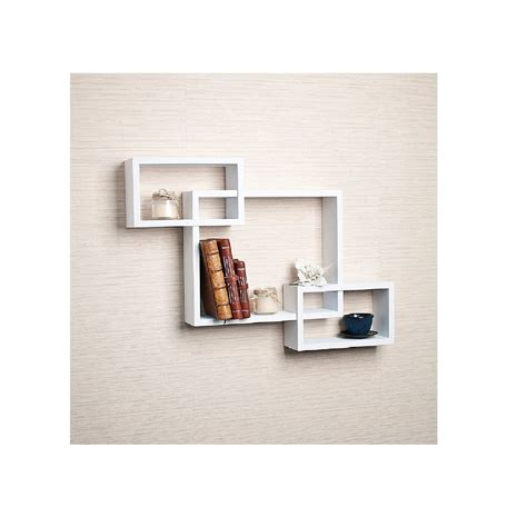 Home Interior Shelves by Top 20 White Floating Shelves For Home Interiors