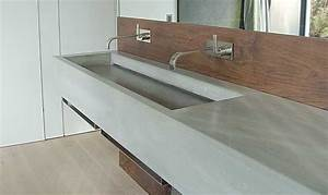 Waschtisch Aus Beton : waschtisch aus beton venosa form in funktion ~ Lizthompson.info Haus und Dekorationen
