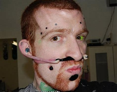 insane stretched piercings tattoo ideas artists