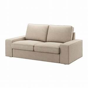 Canapé Ikea 2 Places : kivik canap 2 places hillared beige ikea ~ Teatrodelosmanantiales.com Idées de Décoration