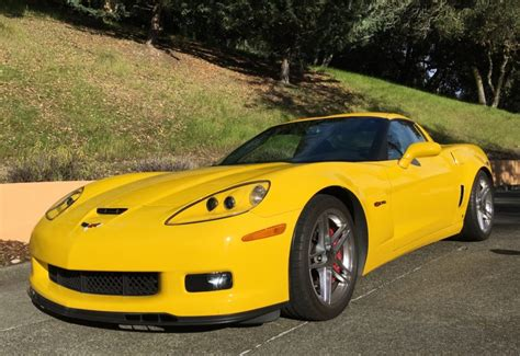 38k-mile 2007 Chevrolet Corvette Z06 For Sale On Bat