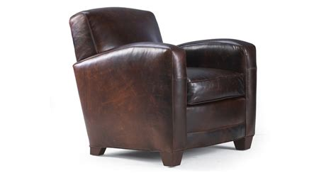 mitchell gold ellis leather chair