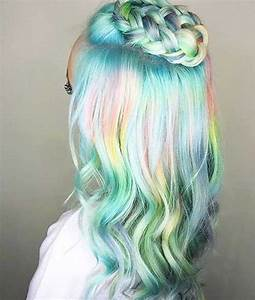 Trend Alert 15 Holographic Hair Colors For Long Hair