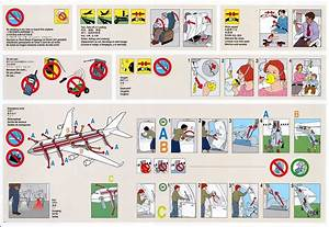 United Airlines Safety Card