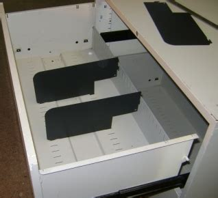 dividers  file cabinets