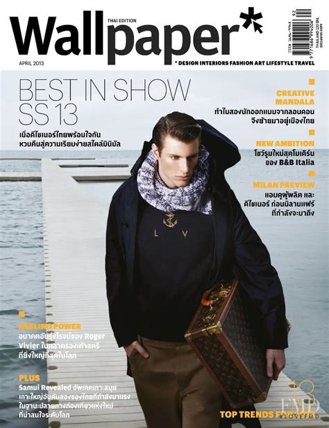 Cover Of Wallpaper* Magazine Thailand , April 2013 (id