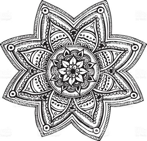 black mandala cliparts   clip art