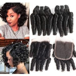 Victorian rag curls (ringlets) in today's video i'll be sharing with you how to do these authentic victorian rag curl ringlets tutorial. Molefi Brazilian Virgin Funmi Hair Bundles Spiral Curl ...