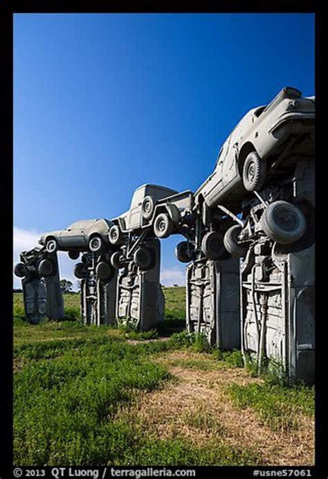 picturephoto car sculpture carhenge alliance nebraska