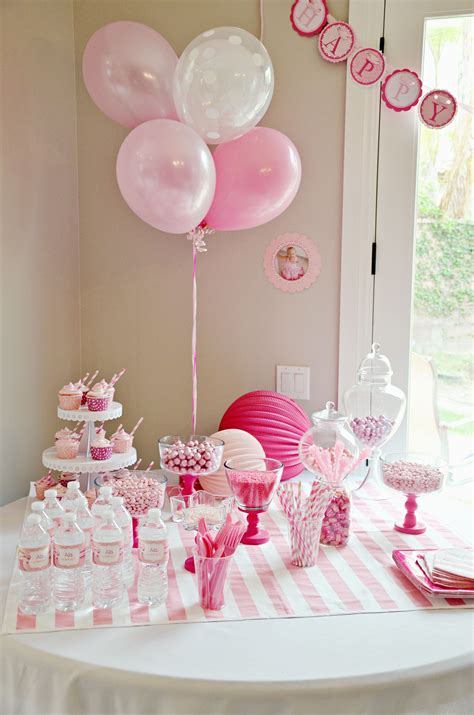 Birthday Party Decoration Ideas For 1 Year Old Elitflat