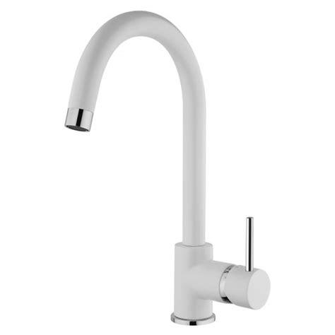 rubinetto bianco rubinetto miscelatore bianco con canna alta cucina e