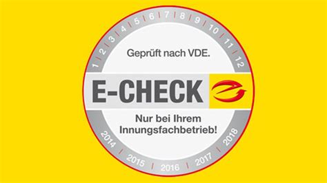 sicherheit durch  check