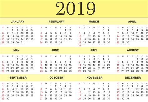 yearly calendar printable blank templates calendar office