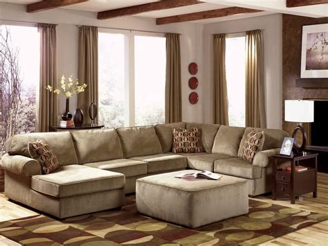 Brown Sectional Living Room Ideas by Living Room Stylish Brown Living Room Design With