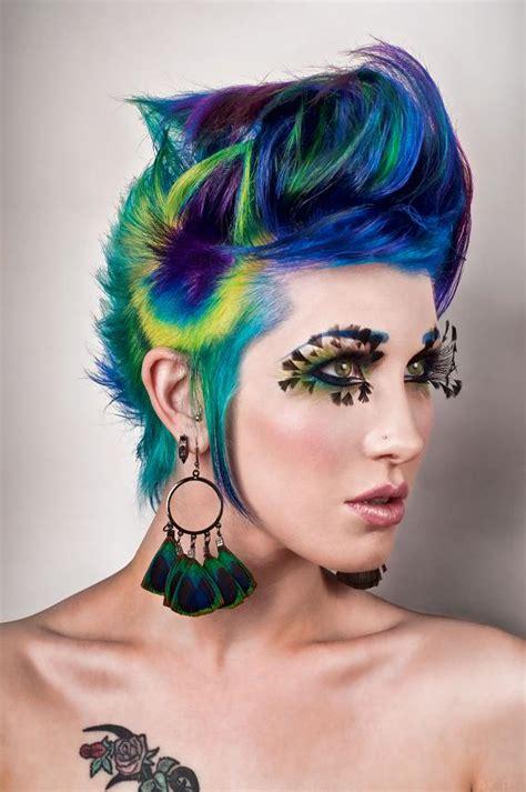 Peacock Hair By Alrocksursocks