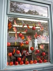 Autumn, Shop, Window