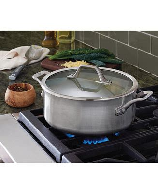 Calphalon Kitchen Essentials 5 Qt Oven by Calphalon Signature Stainless Steel 5 Qt Oven With