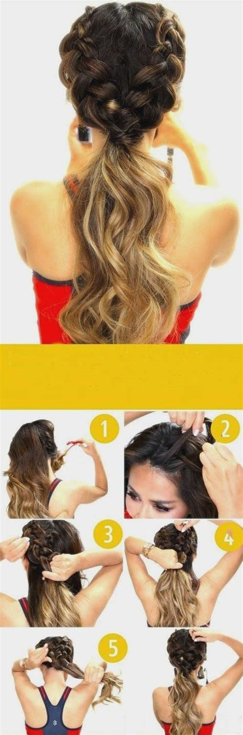 And Easy Hairstyles For Hair For School by 40 Easy Hairstyles For Schools To Try In 2016