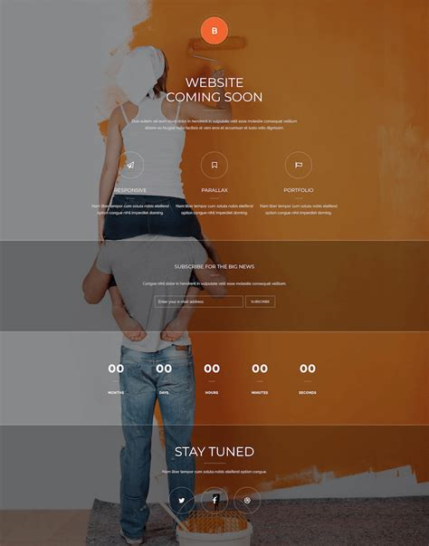 Coming Soon Theme 15 Best Coming Soon Themes 2019 Construction