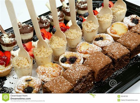 dessert canapes dessert canapes stock photos image 35048783