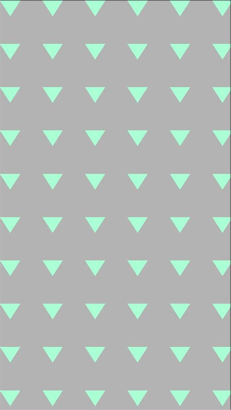 galaxy mint triangles iphone background wallpaper phone