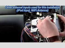 Installation Guide for Eonon Car DVD GPS GM5170 Toyota