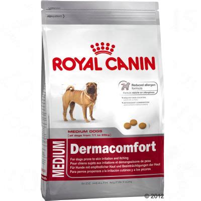 pate pour chien royal canin croquettes royal canin medium health nutrition dermacomfort zooplus be