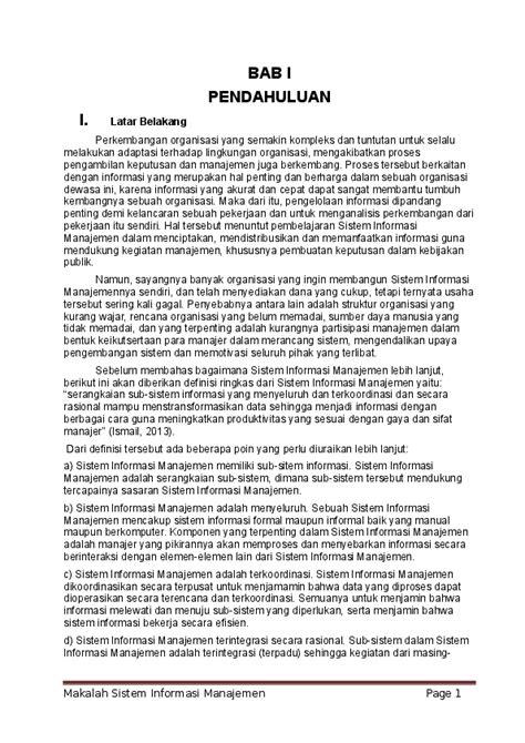 Contoh Jurnal Sistem Informasi Pemasaran Jurnal Indonesia