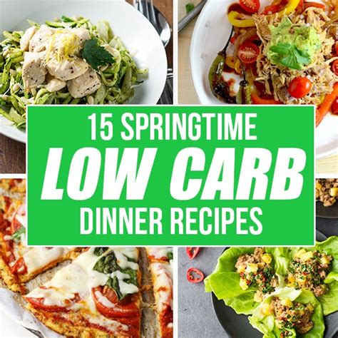 low dinner recipes springtime low carb dinner recipes i d rather be a chef