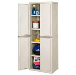 new sterilite 01428501 heavy duty adjustable 4shelf base garage storage cabinet ebay