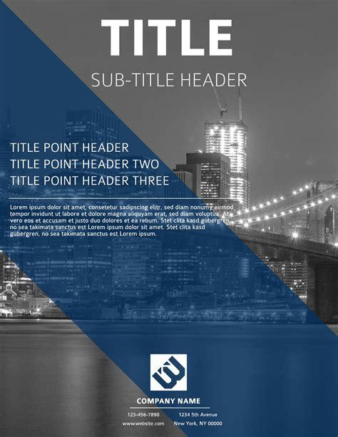 design a flyer business flyer templates