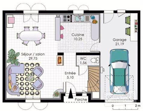 plan maison etage 3 chambres plan moderne 3d maison classique maison moderne