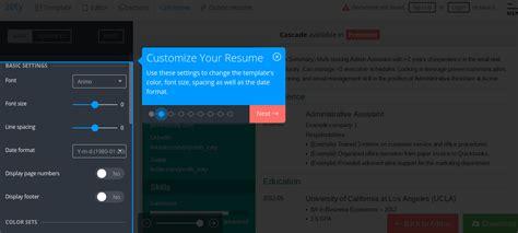 Resume Builder Ratings by Top 10 Free Resume Builder Reviews Jobscan