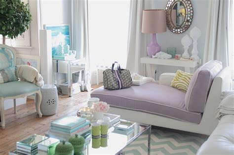 Purple Grey And Turquoise Living Room by Purple Chaise Lounge Contemporary Living Room