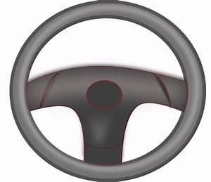 Steering Wheel Black Clip Art at Clker.com - vector clip ...