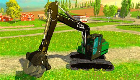 мод челюстной погрузчик 171 fdr t220l grapple loader 187 v1 0 для farming simulator 2015 скачать