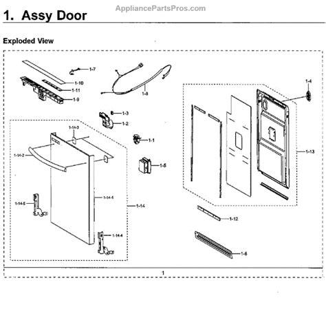 parts  samsung dwmusaa  door parts